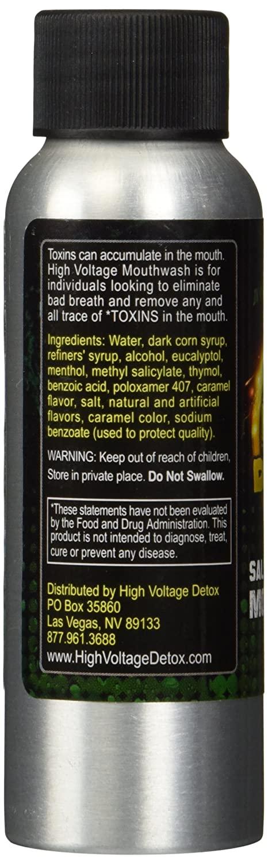 High Voltage Detox mouthwash